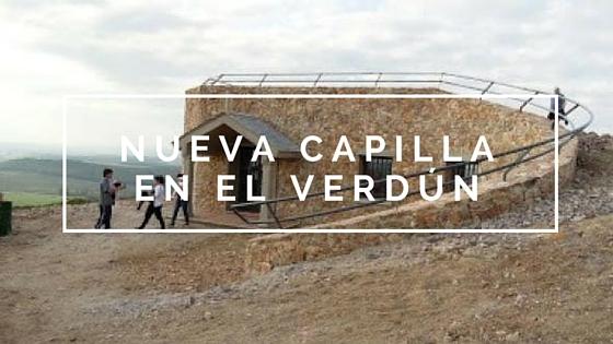 Se inaugurará capilla en el Cerro del Verdún